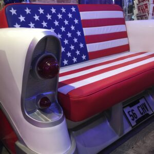 Chevrolet American Flag Sofa 🇺🇸