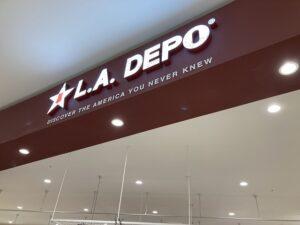 グランドオープン イオンモール白山店 に L.A.DEPO のお店が出来るまで
