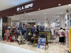 L.A.DEPO  イオンモール白山店  オープンしています!!